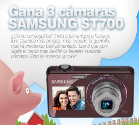 Sorteo de camaras Samsung