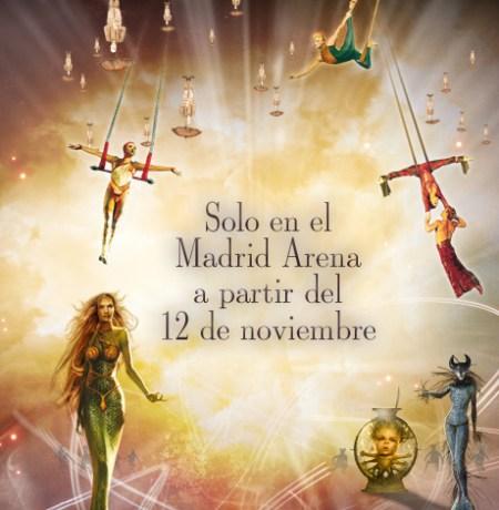 Entradas Cirque du Soleil