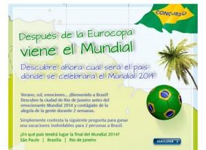 viaje a brasil gratis