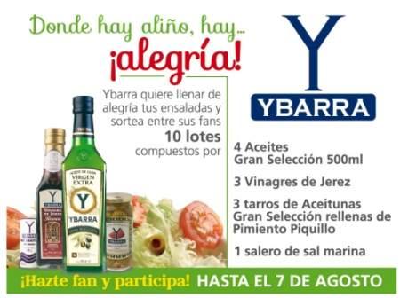 Sorteo Ybarra