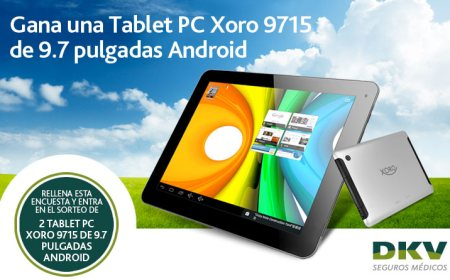 Sorteo de Tablet Android de DKV Seguros