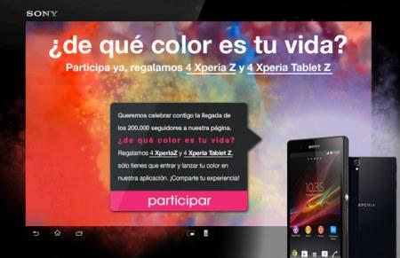 Promocion De que color es tu vida