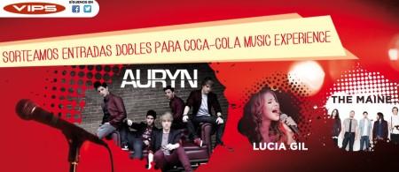 Sorteo de coca cola music experience