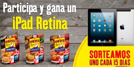 ganar ipad retina gratis