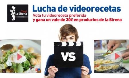 Concurso de videorecetas La Sirena