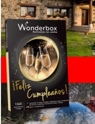 sorteo Wonderbox La ilusion que nos mueve cofidis