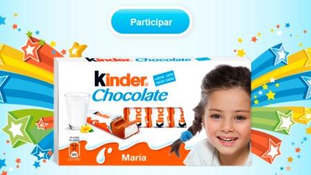 promocion Kinder Chocolate