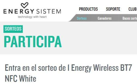 Sorteo de Energy System