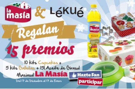 Sorteo Gratis de La Masia - Lekue