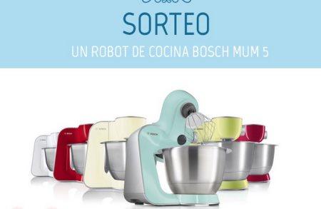 Sorteo Gratis de robot de cocina Bosch