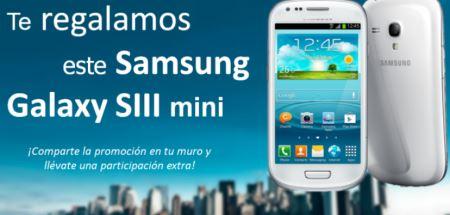 Sorteo Gratis de Samsung SIII mini
