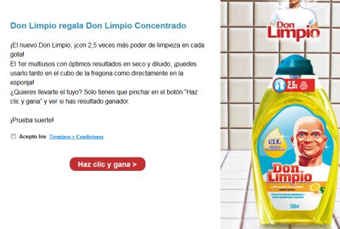 Promocion Don Limpio